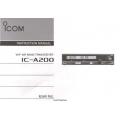 ICOM IC-A200 Instruction Manual  $2.95