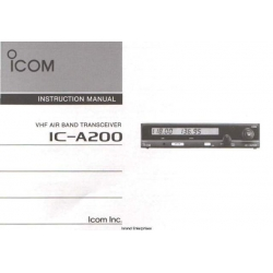 ICOM IC-A200 Instruction Manual  $2.95