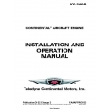 Continental IOF-240-B Installation and Operation Manual OI-22
