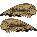 Suzuki Intruder Motorcycle Logo,Decals!