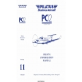 Pilatus  PC12, PC12/45 Pilot's OPerating Handbook & Foca Approved Airplane Flight Manual 01973-001 $5.95