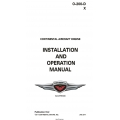 Continental O-200-D & X Series Engine Installation and Operation Manual OI-2