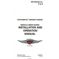Continental IOF-550 Permold Series Engine Installation and Operation Manual OI-24 $19.95