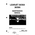 Learjet 35-35A 36-36A Maintenance Manual MM-99