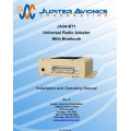 Jupiter Avionics JA34-BT1 Universal Radio Adapter With Bluetooth Installation and Operating Manual $9.95