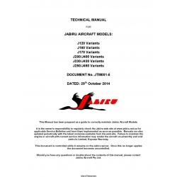 Jabiru Aircraft Models J120 J160 J170 J200-J400 J230-J430 J250-J450 Technical Manual