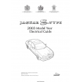 Jaguar S-Type Electrical Guide 2003 $9.95