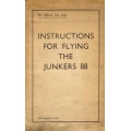 Junkers 88 Instructions for Flying $2.95