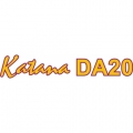 Katana DA20 Aircraft Decal,Sticker 6 1/2''high x 26 1/2''wide!