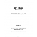 Ken Royce Engine Handbook 1941 $6.95