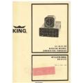 King KX 145/ KI 205 NAV Receiver/ COMM Transceiver Installation Manual 006-0110-02 $6.95