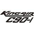 Beechcraft King Air C90-1 Aircraft Decal,Sticker!