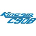 Beechcraft King Air C90B Aircraft Decal,Sticker!