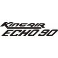 Beechcraft King Air ECHO 90 Aircraft Decal,Sticker!