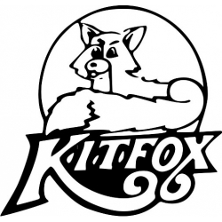 """Kitfox Sticker/Decal Vinyl Graphics! 7"""" wide by 6.75"""" high!"""