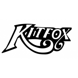 """Kitfox Lettering !Sticker/Decal Vinyl Graphics! 8"""" wide by 3.5"""" high!"""