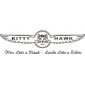 Kitty Hawk Aircraft Decal,Stickers!
