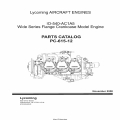 Lycoming IO-540-AC1A5 Wide Series Flange Crankcase Model Engine Parts Catalog PC-615-12 2008 $19.95