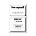Bendix King KY 96A, KY 97A VHF Communication Transceiver Maintenance Manual 006-05674-0005