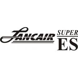 Lancair Super ES Aircraft Decal/Sticker 3 1/4''high x 12 1/2''wide!