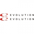 Evolution Aircraft Decal,Sticker 13''wide x 1.25''high!