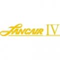 Lancair IV Aircraft Decal,Sticker 2 1/2''high x 12''wide!