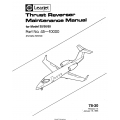Learjet Model 35-36-55 Thrust Reverser Maintenance Manual 45-10000