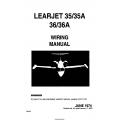 Learjet 35-35A-36-36A Wiring Manual WM-99 $13.95