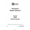 Learjet 20-30 Series Structural Repair Manual SRM-4 $29.95