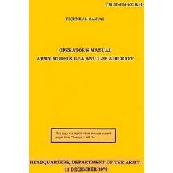 TM 55-1510-216-10 Army Model U-3A and U-3B Aircraft Operation's Manual