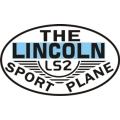 Lincoln LS2 Sports Plane Aircraft Logo,Decal