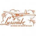 Luscombe No Woods,No Nail,No Glue Decal/sticker  $16.95