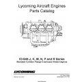 Lycoming IO-540-J,K,M,N,P and R Series Standard Cylinder Flange Crankcase Model Engines Parts Catalog  PC-215-2  $19.95