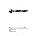 Lycoming TEO-540-C1A Engine Installation and Operation Manual IOM-TEO-540-C1A v2019 $19.95