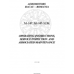 Vedeneyev M-14P M-14-XDK Operating Instructions, Service Inspection and Associated Maintenance