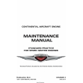 Continental Standard Practice  Maintenance Manual M-0 $29.95