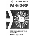 Avia M462-RF Aircraft Engine Technical Description Servicing and Maintenance $19.95