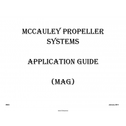 Mccauley Propeller System Application Guide 2011