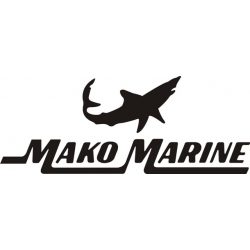 Mako Marine Boat Logo,Decals!