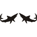 Mako Shark Boat Decal/Sticker!