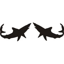Mako Shark Boat Decal/Sticker!
