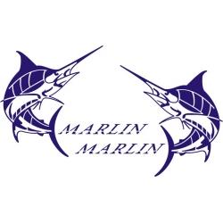 Marlin Boat Logo,Decals!