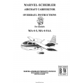 Marvel-Schebler Aircraft Carburetor Overhaul Instructions $ 9.95