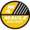Maule M4-Rocket Aircraft Decal/Sticker 6''round diameter!