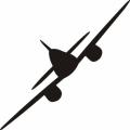 "Me-262 Decal/Vinyl Sticker Vinyl Graphics 12"" wide by 3.63"" high!"