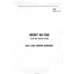Mig 21 Pilot's Flight Operating Instructions