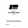Piper Mojave Maintenance Manual PA-31-P350 $13.95 Part # 761-781