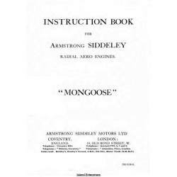 Armstrong Siddeley Mongoose Instruction Book $9.95