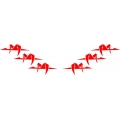 Monocoupe Aircraft Decal/Sticker 5.5''h x 10''w!