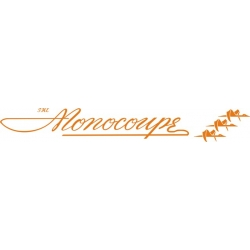 The Monocoupe Aircraft Logo,Decal/Sticker 2.75''h x 18''w!